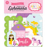 Echo Park - Perfect Princess Collection - Ephemera - Frames and Tags