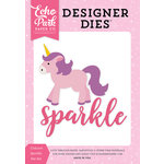 Echo Park - Perfect Princess Collection - Designer Dies - Unicorn Sparkle