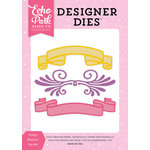 Echo Park - Perfect Princess Collection - Designer Dies - Fancy Banners