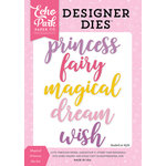 Echo Park - Perfect Princess Collection - Designer Dies - Magical Princess