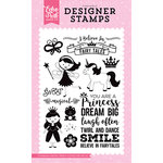 Echo Park - Perfect Princess Collection - Clear Acrylic Stamps - I Believe in Fairy Tales