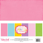 Echo Park - Perfect Princess Collection - 12 x 12 Paper Pack - Solids