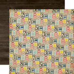 Echo Park - Petticoats and Pinstripes Collection - Boy - 12 x 12 Double Sided Paper - Makes Cents