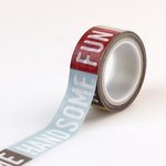 Echo Park - Petticoats and Pinstripes Collection - Boy - Decorative Tape - Boy Words
