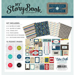 Echo Park - Petticoats and Pinstripes Collection - Boy - My StoryBook - Pocket Page Kit