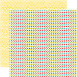 Echo Park - A Perfect Summer Collection - 12 x 12 Double Sided Paper - Chevrons