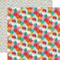 Echo Park - Party Time Collection - 12 x 12 Double Sided Paper - One Year Older