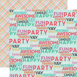 Echo Park - Party Time Collection - 12 x 12 Double Sided Paper - Surprise Party