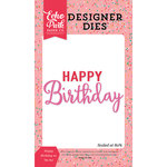 Echo Park - Party Time Collection - Designer Dies - Happy Birthday 2