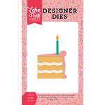 Echo Park - Party Time Collection - Designer Dies - Cake and Candle