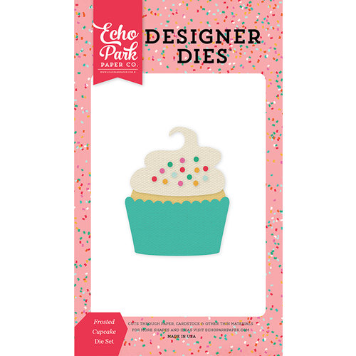 Echo Park - Party Time Collection - Designer Dies - Frosted Cupcake