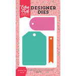Echo Park - Party Time Collection - Designer Dies - Birthday Tags