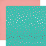 Echo Park - Party Time Collection - 12 x 12 Double Sided Paper with Foil Accents - Random Dot