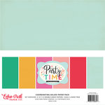 Echo Park - Party Time Collection - 12 x 12 Paper Pack - Solids