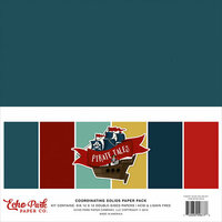 Echo Park - Pirate Tales Collection - 12 x 12 Paper Pack - Solids