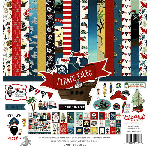 Echo Park - Pirate Tales Collection - 12 x 12 Collection Kit