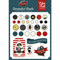 Echo Park - Pirate Tales Collection - Decorative Brads