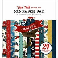 Echo Park - Pirate Tales Collection - 6 x 6 Paper Pad