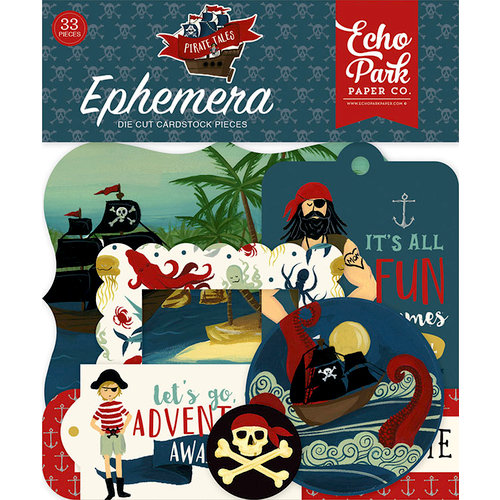 Echo Park - Pirate Tales Collection - Ephemera