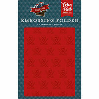 Echo Park - Pirate Tales Collection - Embossing Folder - Buccaneer