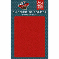 Echo Park - Pirate Tales Collection - Embossing Folder - Pirate Spots