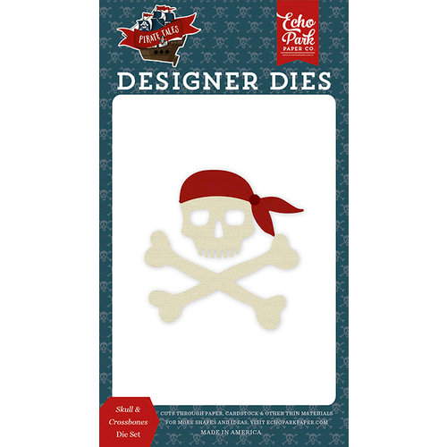 Echo Park - Pirate Tales Collection - Designer Dies - Skull and Crossbones