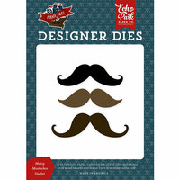 Echo Park - Pirate Tales Collection - Designer Dies - Matey Mustaches
