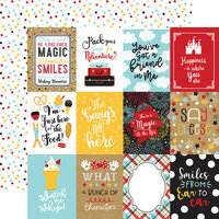Echo Park - Remember The Magic Collection - 12 x 12 Double Sided Paper - 3 x 4 Journaling Cards
