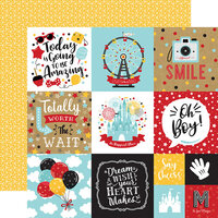 Echo Park - Remember The Magic Collection - 12 x 12 Double Sided Paper - 4 x 4 Journaling Cards