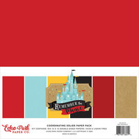 Echo Park - Remember The Magic Collection - 12 x 12 Solids Paper Pack