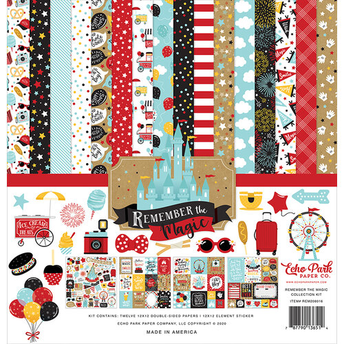 Echo Park - Remember The Magic Collection - 12 x 12 Collection Kit