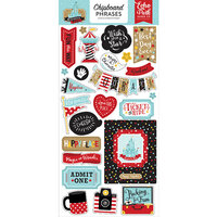 Echo Park - Remember The Magic Collection - Chipboard Stickers - Phrases