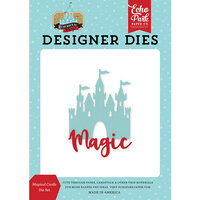 Echo Park - Remember The Magic Collection - Decorative Dies - Magical Castle