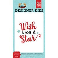 Echo Park - Remember The Magic Collection - Decorative Dies - Wish Upon A Star Word