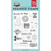Echo Park - Remember The Magic Collection - Clear Photopolymer Stamps - Big Smiles