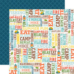 Echo Park - Summer Adventure Collection - 12 x 12 Double Sided Paper - Summer Fun