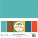 Echo Park - Summer Adventure Collection - 12 x 12 Paper Pack - Solids