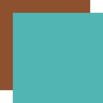 Echo Park - Summer Adventure Collection - 12 x 12 Double Sided Paper - Teal