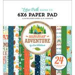Echo Park - Summer Adventure Collection - 6 x 6 Paper Pad