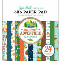 Echo Park - Summer Adventure Collection - 6 x 6 Paper Pad