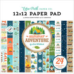 Echo Park - Summer Adventure Collection - 12 x 12 Paper Pad