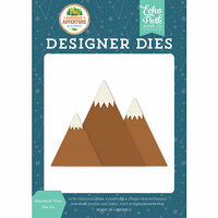 Echo Park - Summer Adventure Collection - Designer Dies - Mountain View