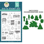 Echo Park - Summer Adventure Collection - Designer Dies and Clear Photopolymer Stamp Set - Escape to Nature
