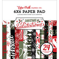 Echo Park - Christmas Salutations Collection - 6 x 6 Paper Pad