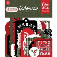 Echo Park - Christmas Salutations Collection - Ephemera