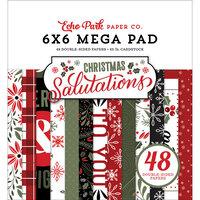 Echo Park - Christmas Salutations Collection - 6 x 6 Mega Paper Pad