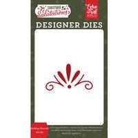 Echo Park - Christmas Salutations Collection - Designer Dies - Holiday Flourish