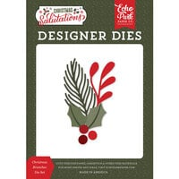 Echo Park - Christmas Salutations Collection - Designer Dies - Christmas Branches