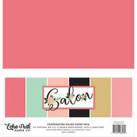 Echo Park - Salon Collection - 12 x 12 Paper Pack - Solids