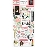 Echo Park - Salon Collection - Chipboard Stickers - Accents